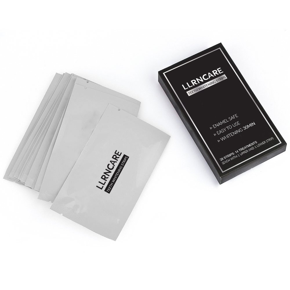 14 Pouches Take Home Activate Charcoal Teeth Whitening Strips