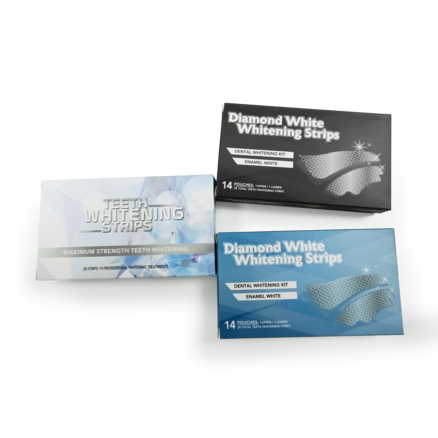 Advanced Teeth Whitening Strips 14 Pairs Home Use Dental Strips